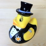 Groom rubber duck