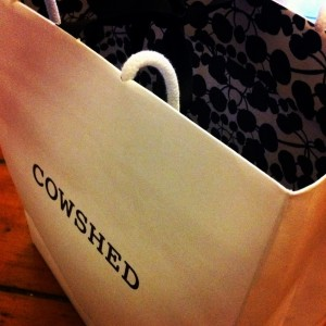 Cowshed mother and baby beauty products