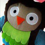 Skip Hop owl baby pram toy from John Lewis