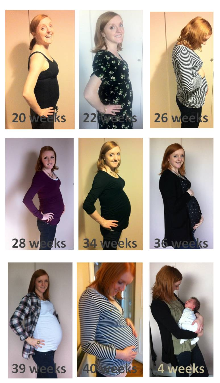 Weekly pregnancy diary - a week-by-week guide to pregnancy, all the symptoms and signs when you're expecting with bump shots and a detailed diary
