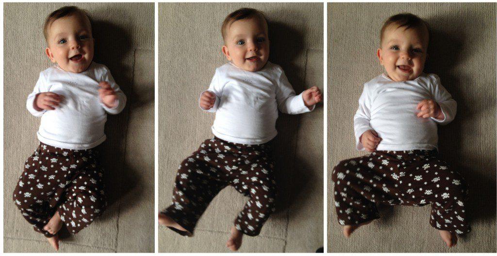 Eliza, five months