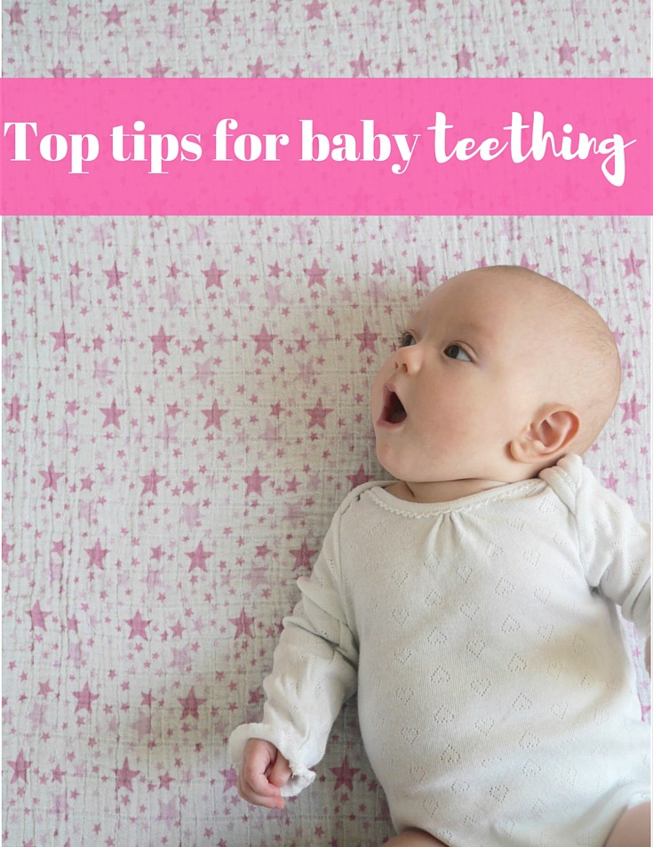Top tips for baby teething - signs, symptoms and what really works