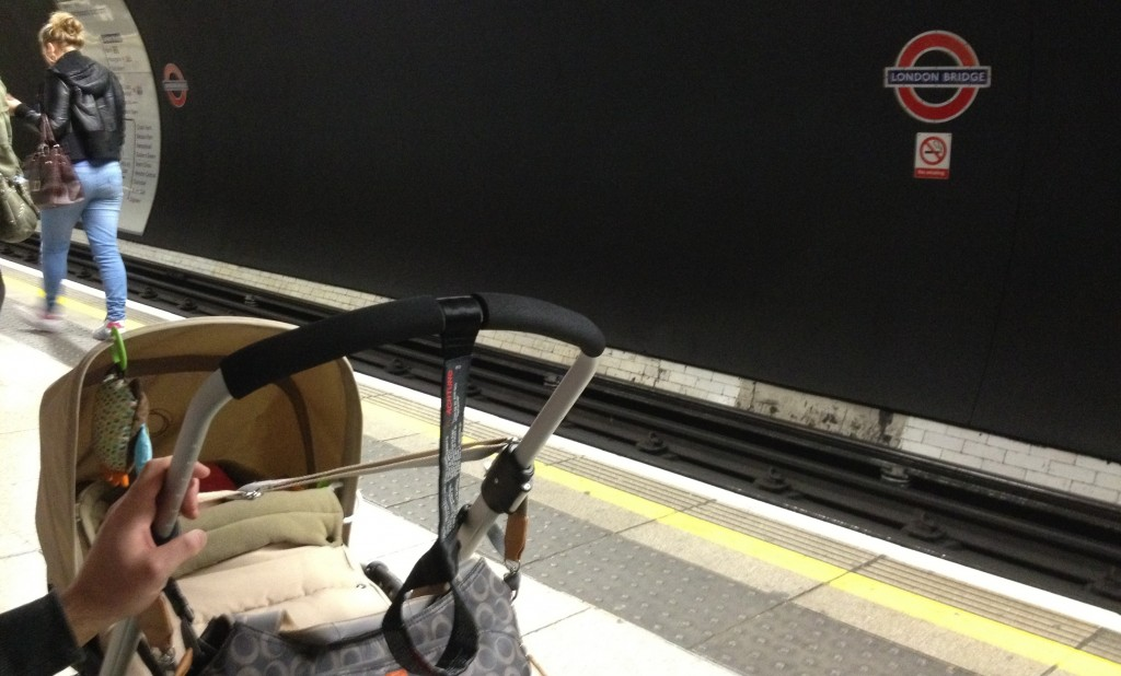 Baby on the tube