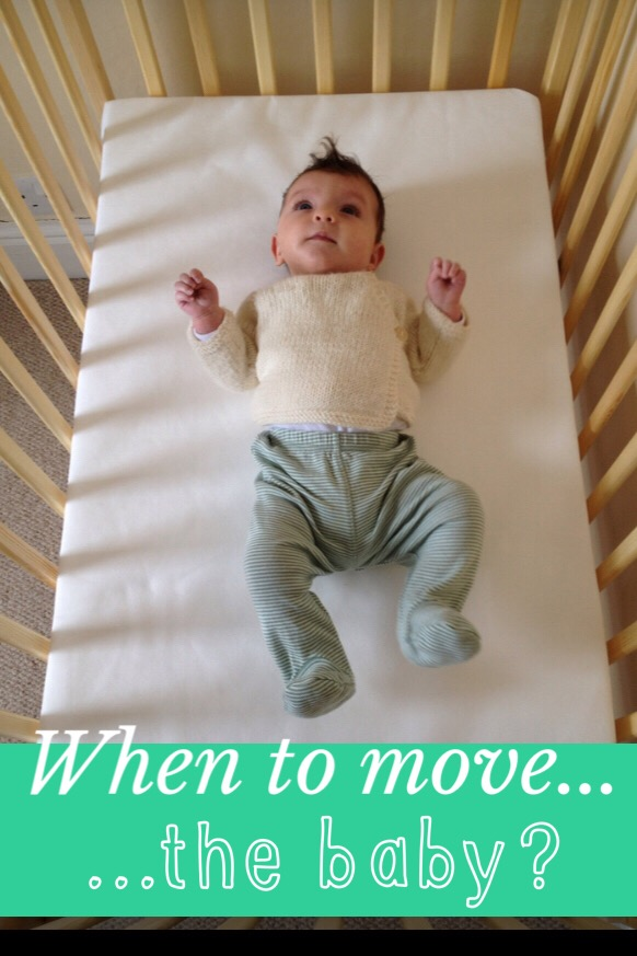 The best time to move baby from your bedroom and dealing with separation anxiety
