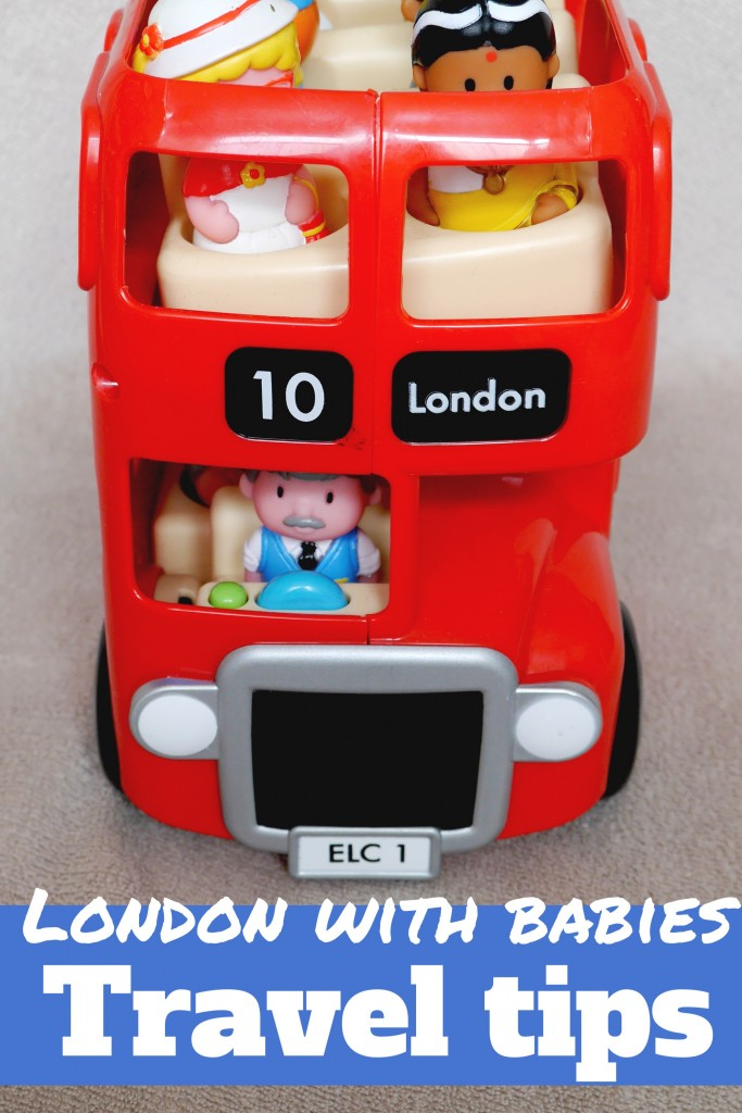 Travel tips for getting around London on public transport with a pram, and small children