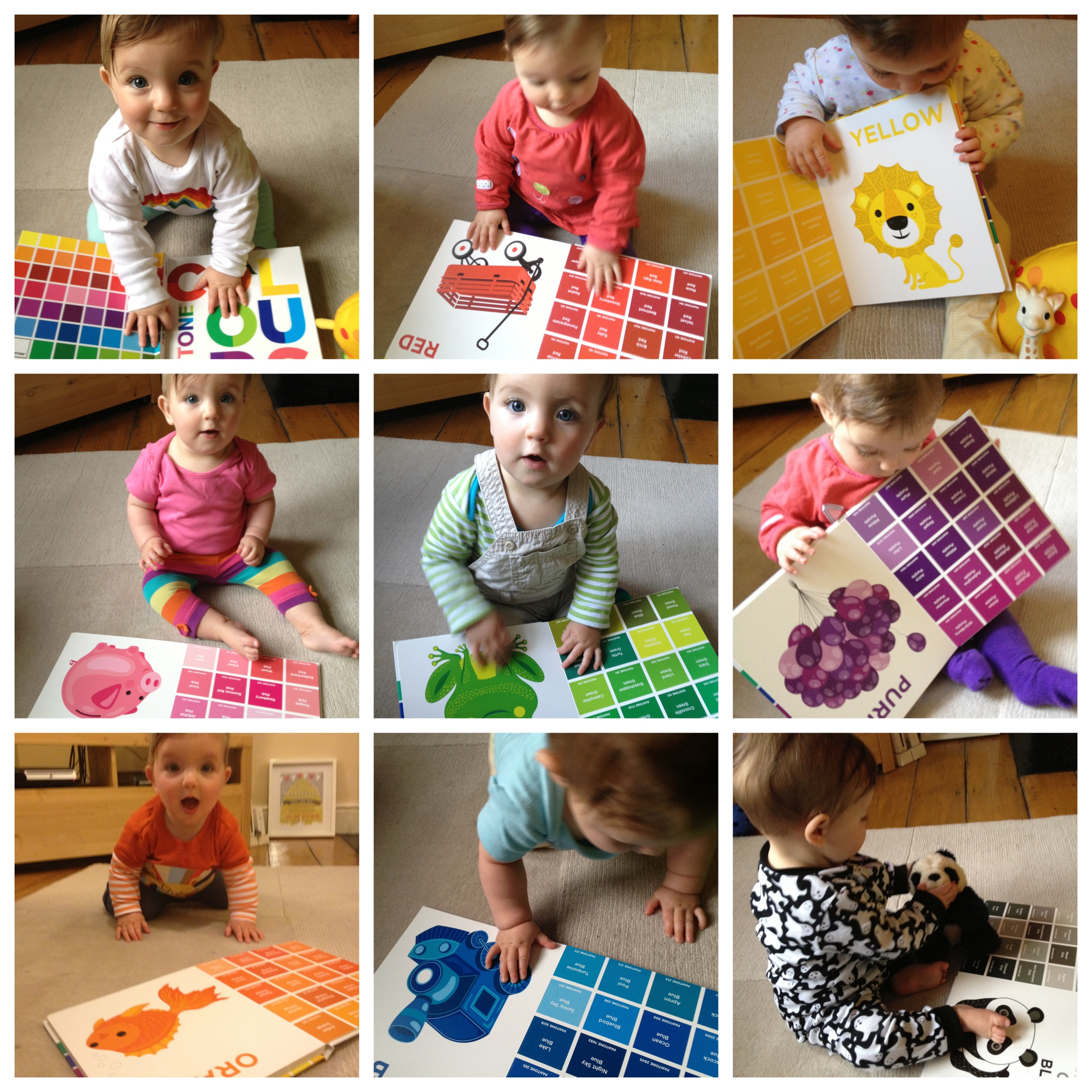 The rainbow world of the Pantone Colours book for children | A Baby ...