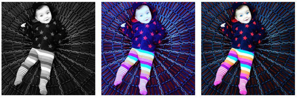 Eliza, eight months