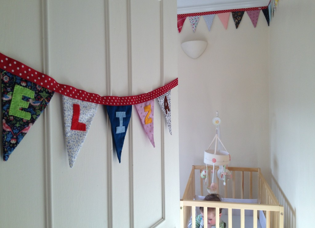 Moving the baby out of our bedroom - baby nursery inspiration