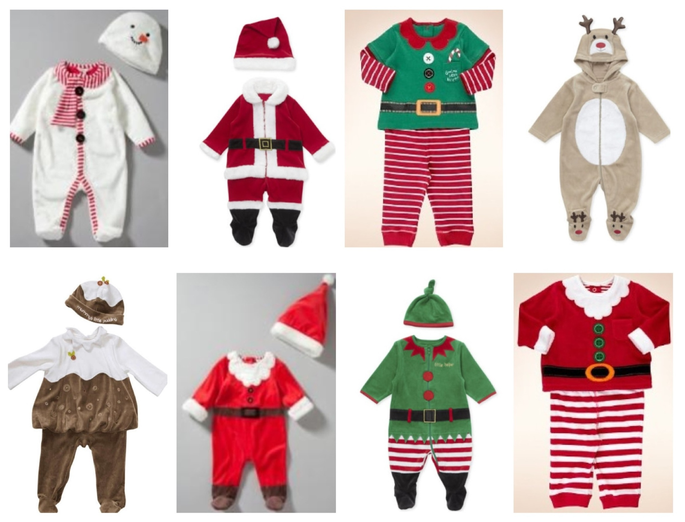 Christmas costumes for children | A Baby on Board blog