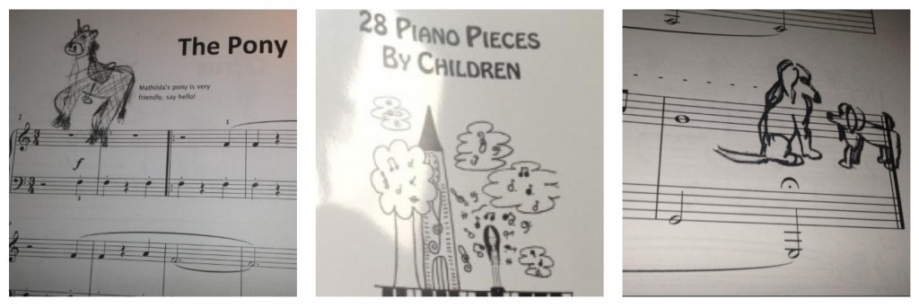 Children's music book for charity