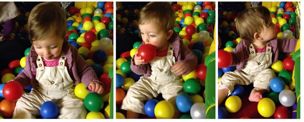 Ball pit, soft play