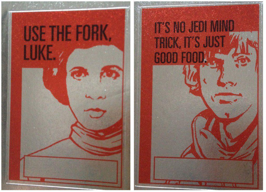 Use the fork, Luke: Star Wars cookbook for kids