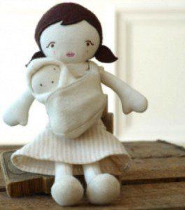 Babywearing doll