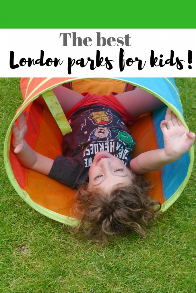 London parks for children - a list fo the best parks for children with children's facilities in London - read this if you're travelling to the city!