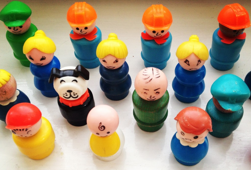 Fisher Price Little People figures - fisher price vintage toys