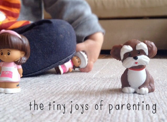 The tiny joys of parenting