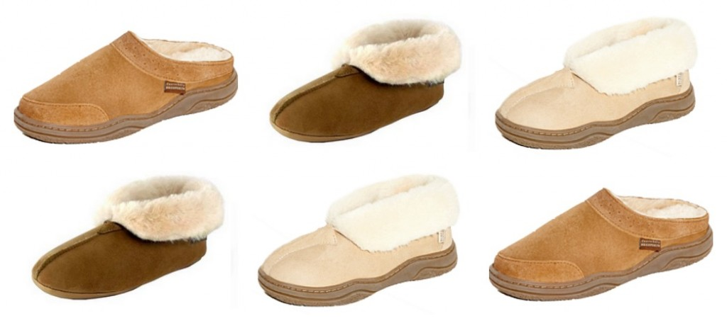 Canterbury Sheepskin slippers