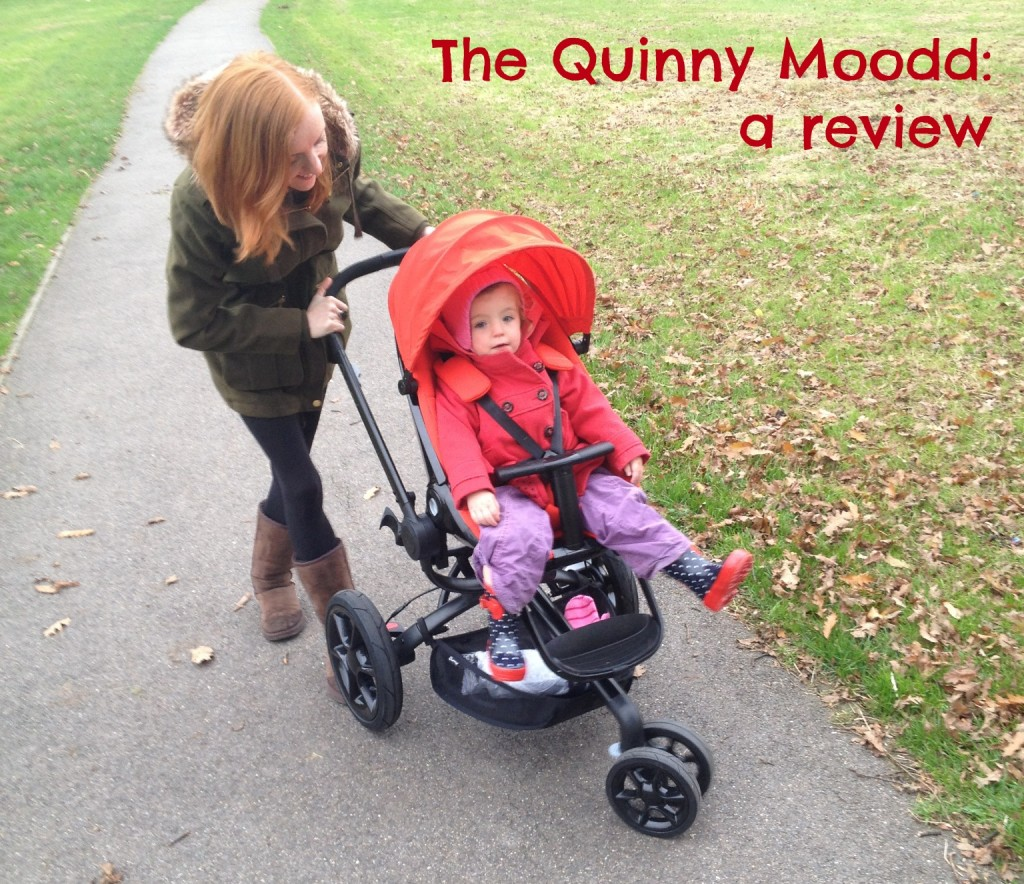 We review the Quinny Mood pushchair / travel system  A Quinny Moodd review