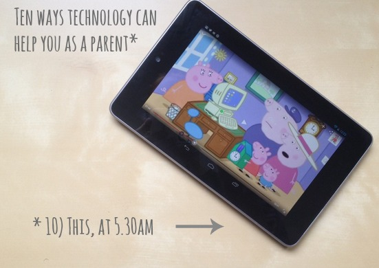 Ten ways technology can help with parenting