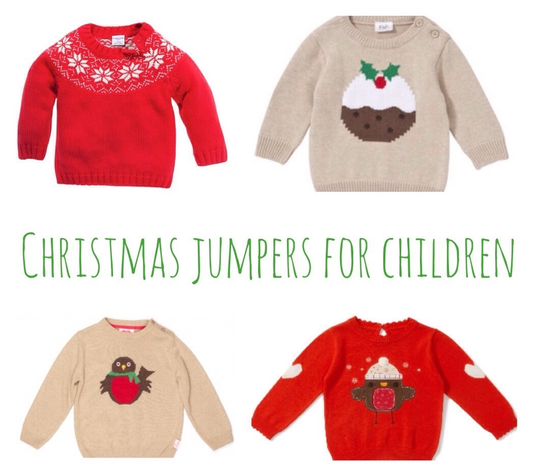 Christmas jumpers for children | A Baby on Board blog