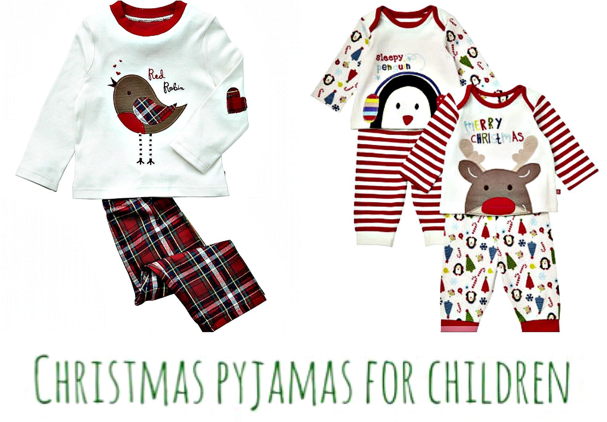 christmas pyjamas for children