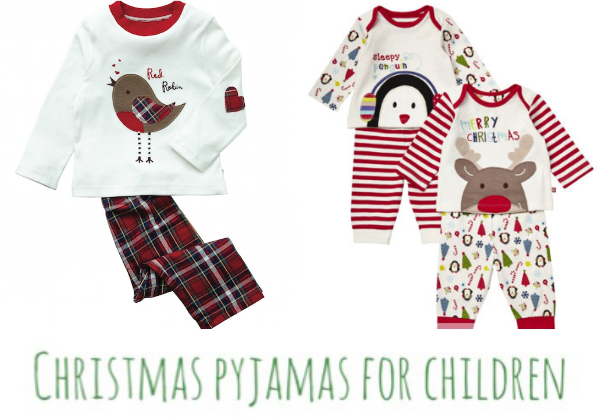 Christmas pyjamas for children | A Baby on Board blog