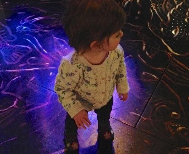 Dancing toddler
