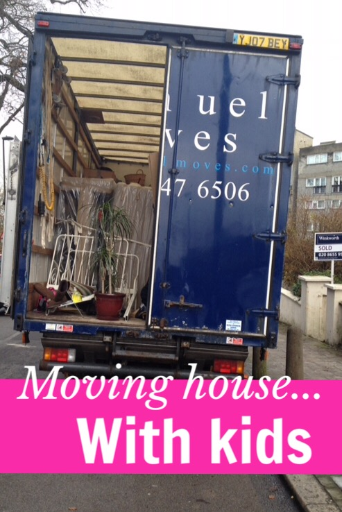 Tips for managing house moves with babies, toddlers and small children