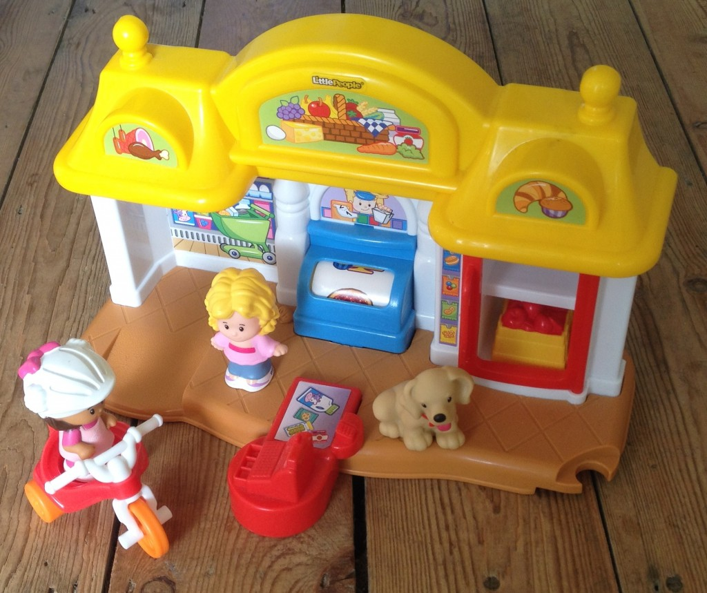 Fisher Price corner market