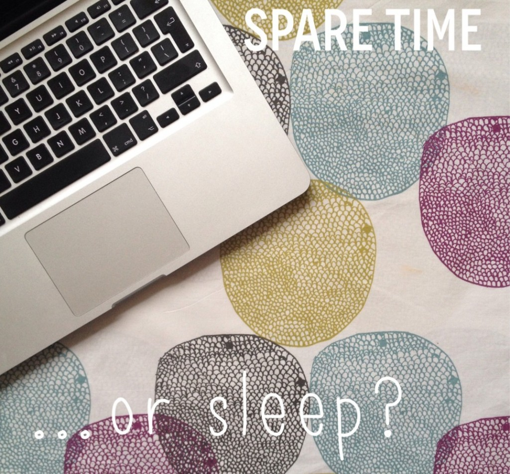 Do you value spare time or sleep more?