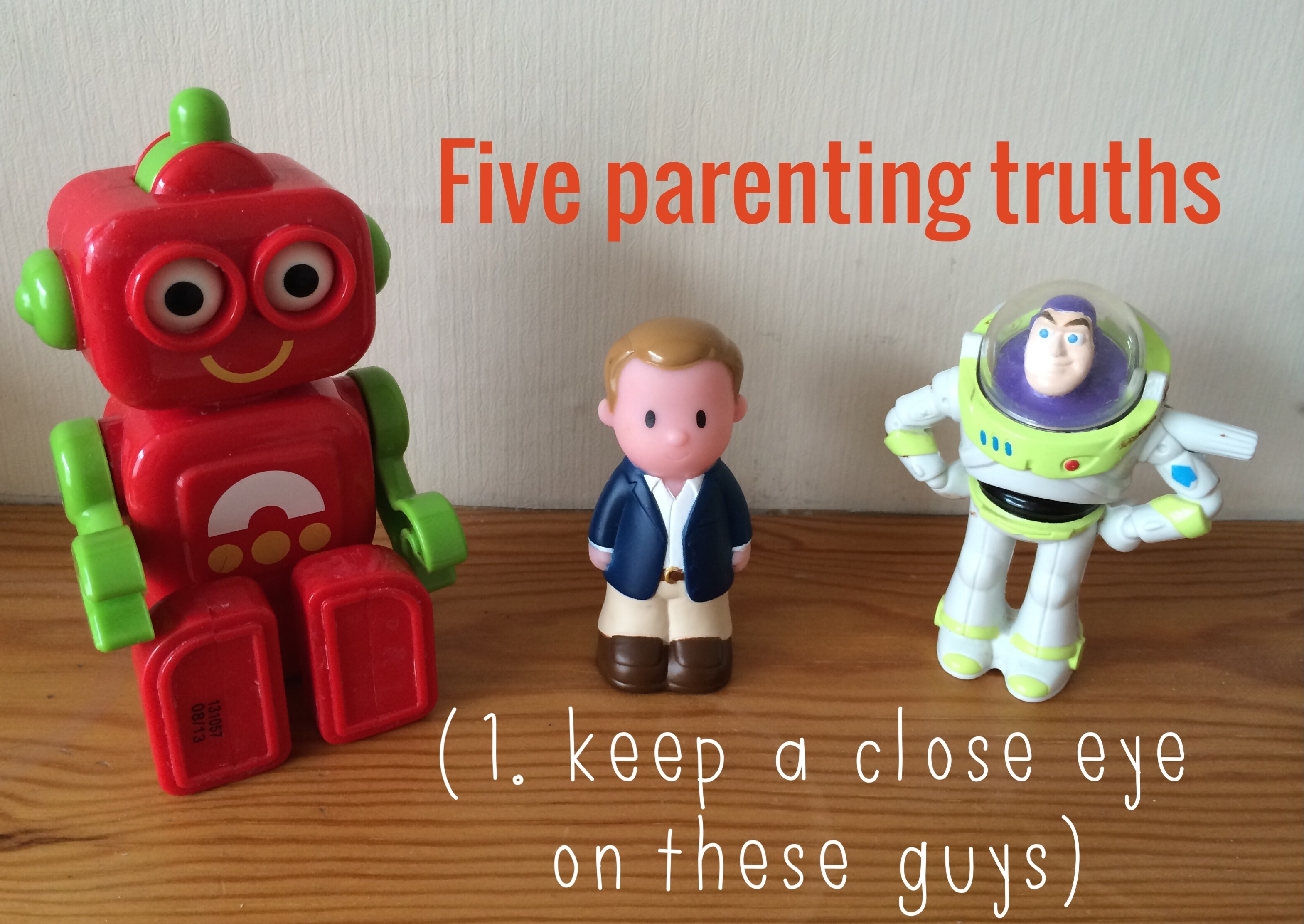 Five truths about parenting