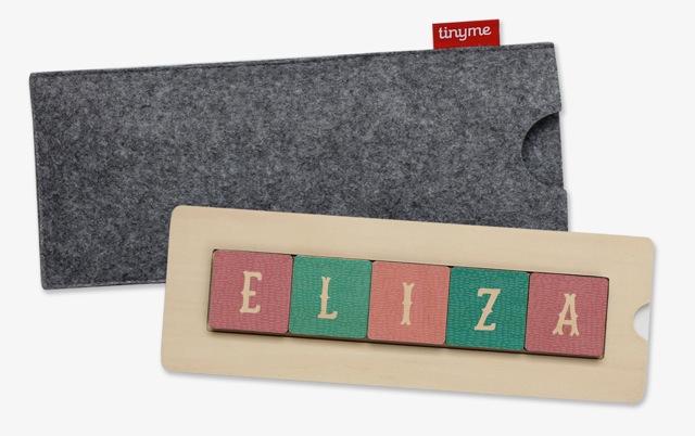 Children's name blocks