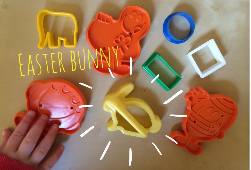 Easter bunny shape cutters