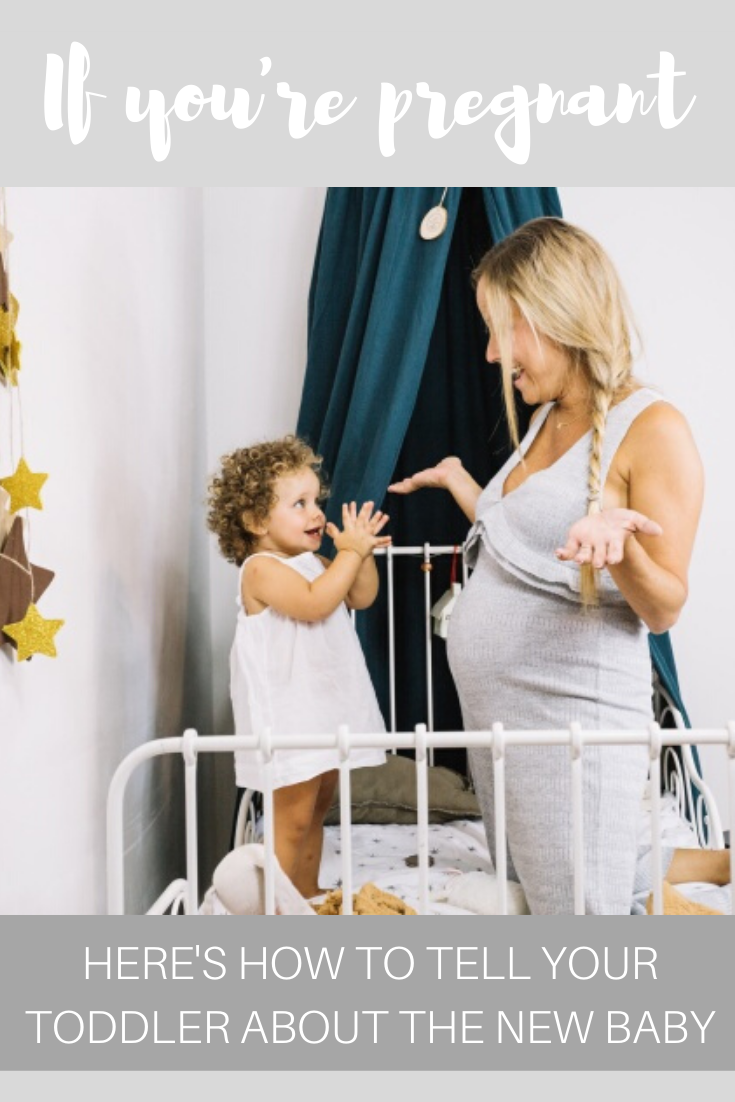 Pregnant? Here's how to tell your toddler about the new baby
