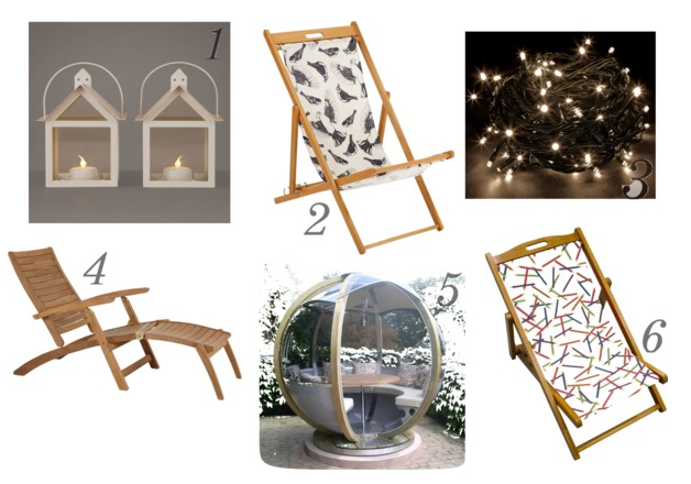 Stylish garden furniture
