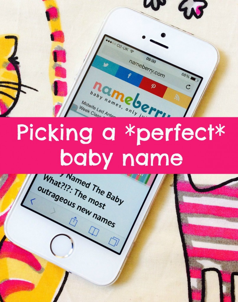 Tips for picking a perfect baby name - for first and second babies