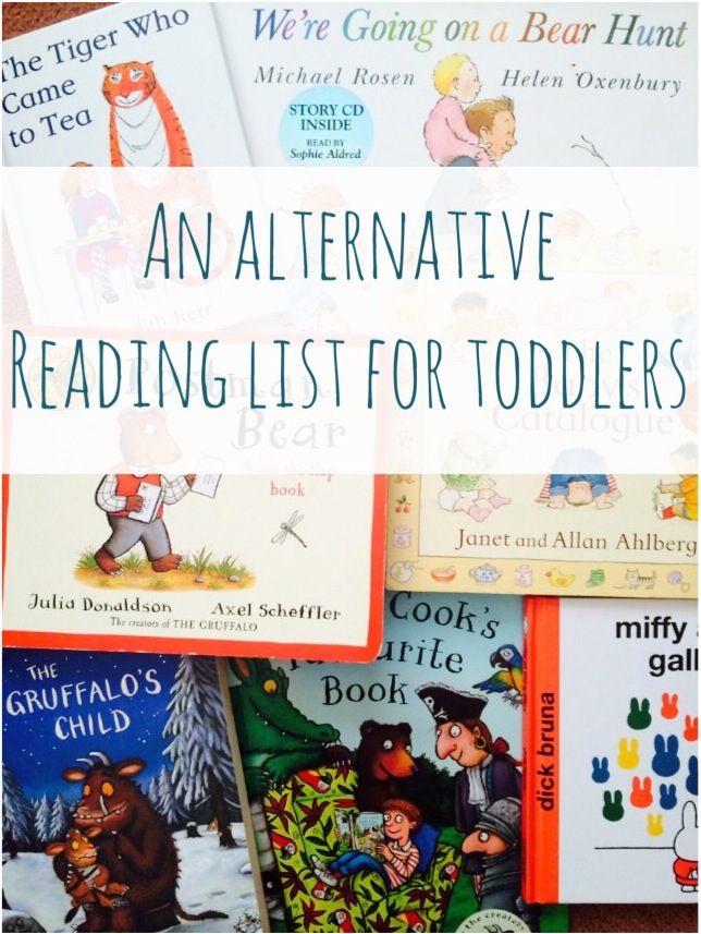 Alternative reading lists for toddlers
