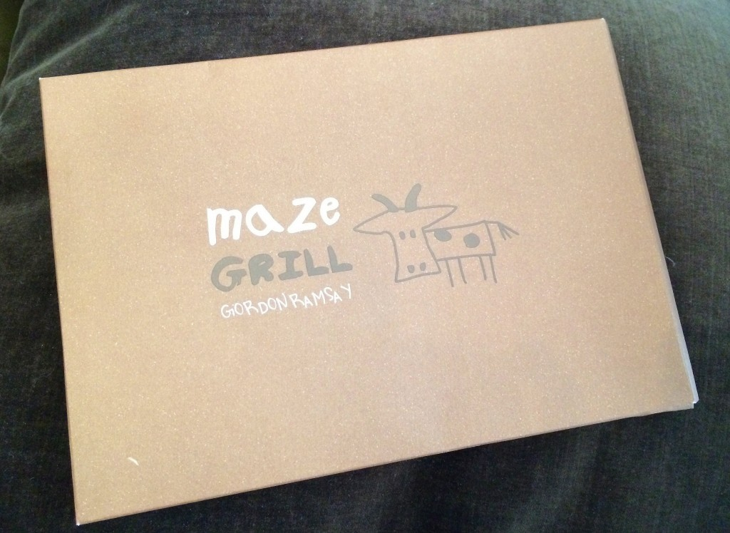 Maze Grill children's menu