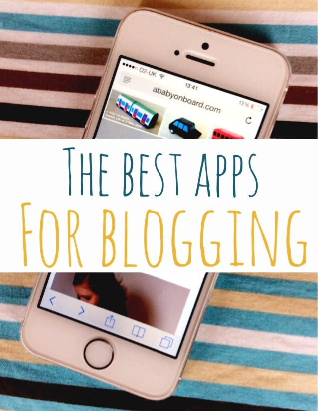 The best apps for blogging - a great list of the best apps for bloggers to use to speed up blogging and photo editing, save time and drive traffic