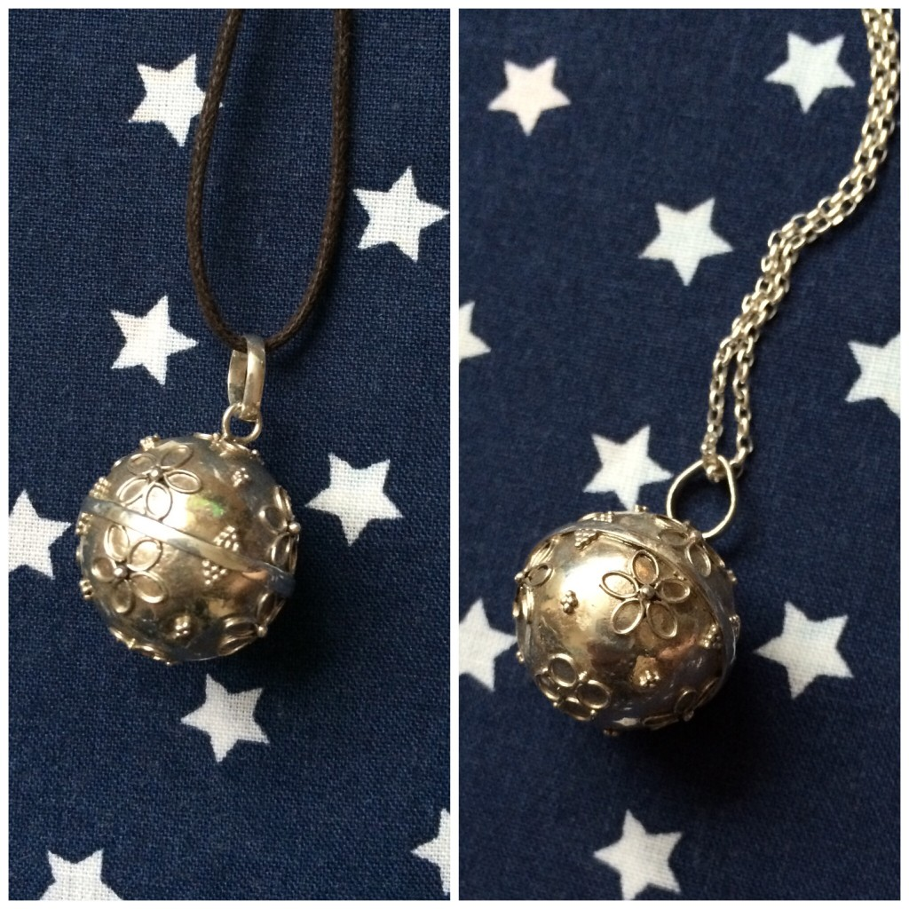 Mexican Bola necklace