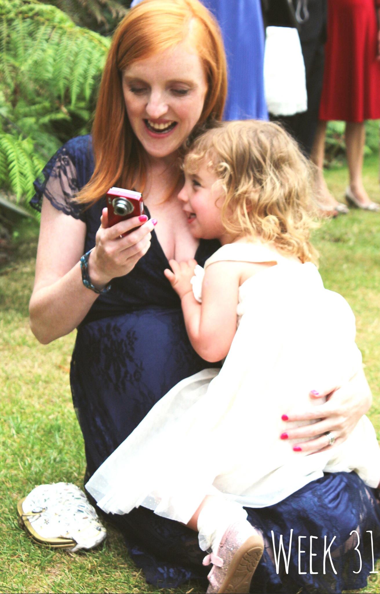 31 weeks pregnant: a wedding, a bridesmaid and a baby bump ...