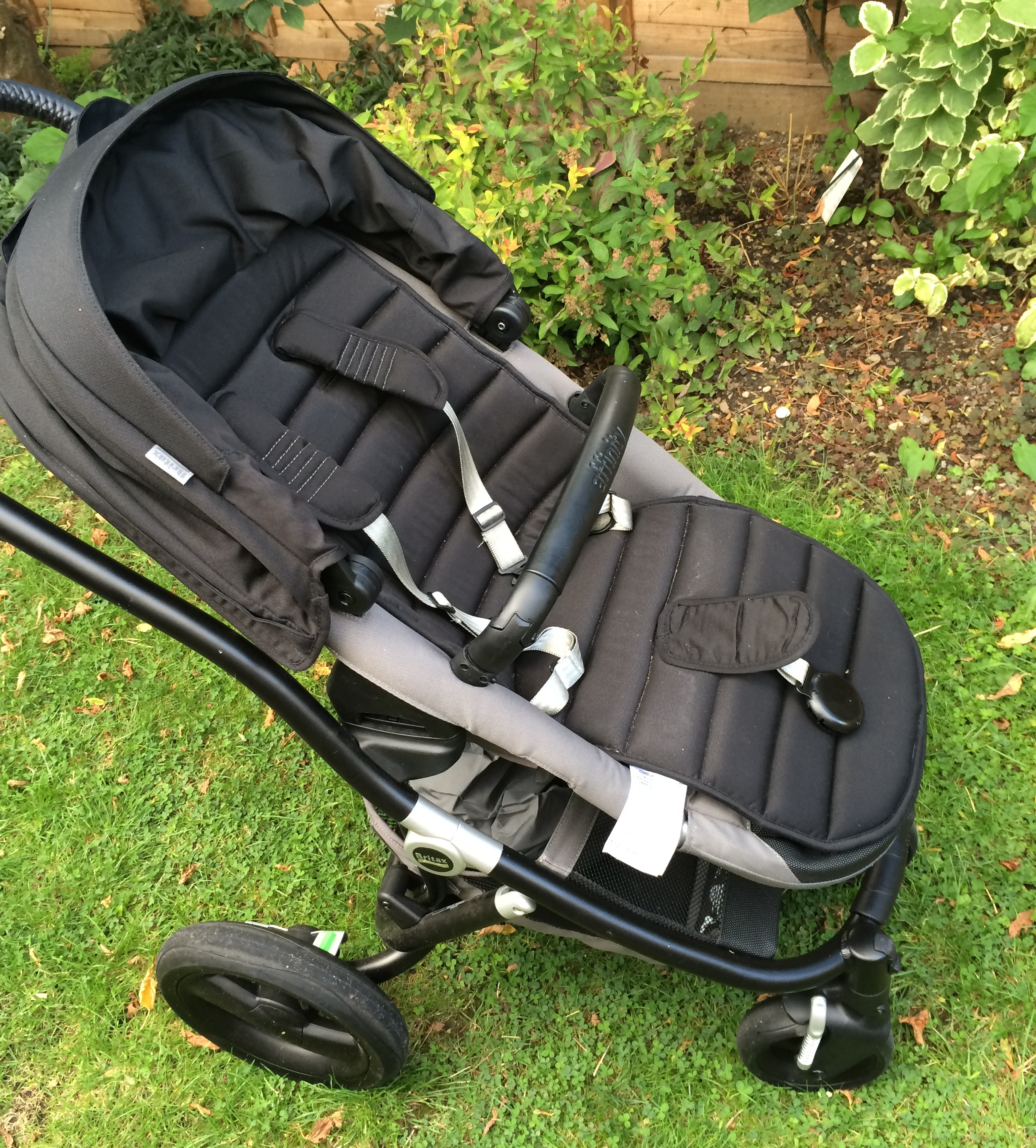 review of the britax affinity pushchair a baby on board blog. Black Bedroom Furniture Sets. Home Design Ideas