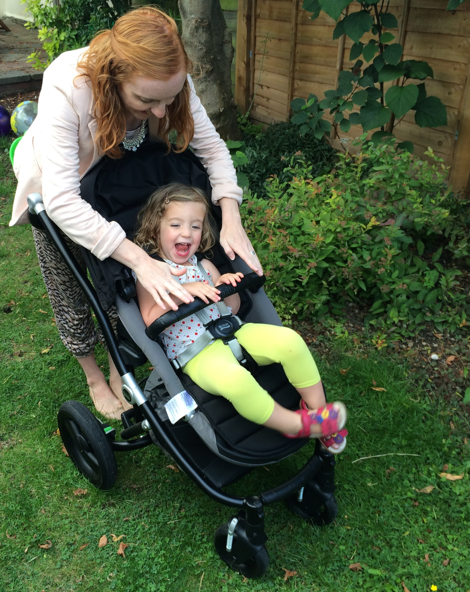 Review of the Britax travel system