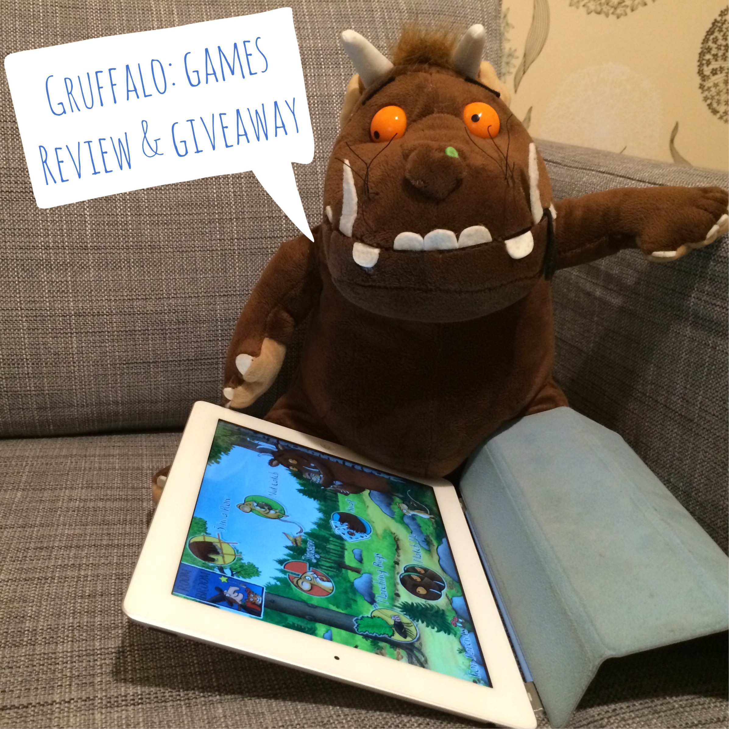 Reveiw of the Gruffalo ipad app