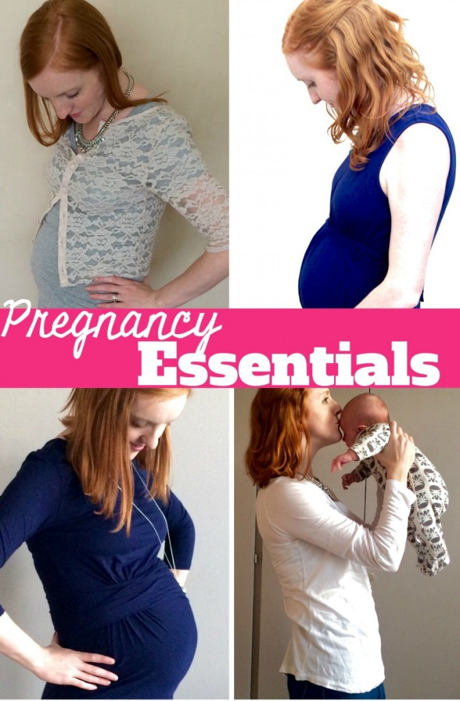 Essential items for pregnancy - from maternity clothes to beauty, the essential items you need when you're expecting