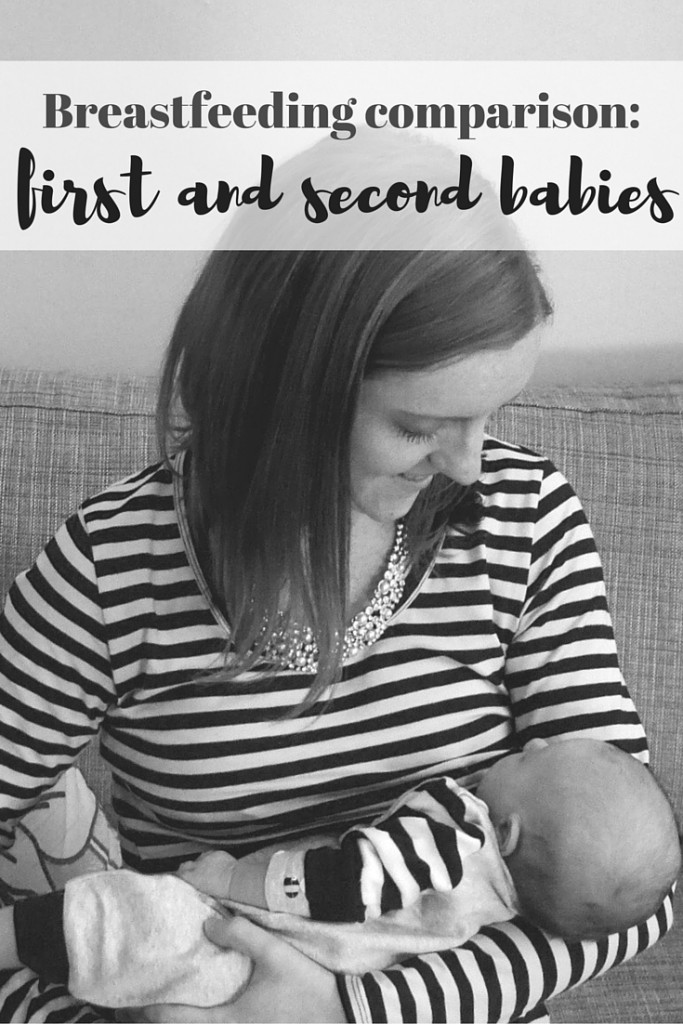 Breastfeeding the second-timer around - how is it different from the first time? Great list of tips (and advice!)