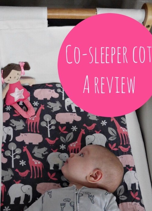 SnuzPod co-sleeper bedside cot review - perfect for breastfeeding and co-sleeping