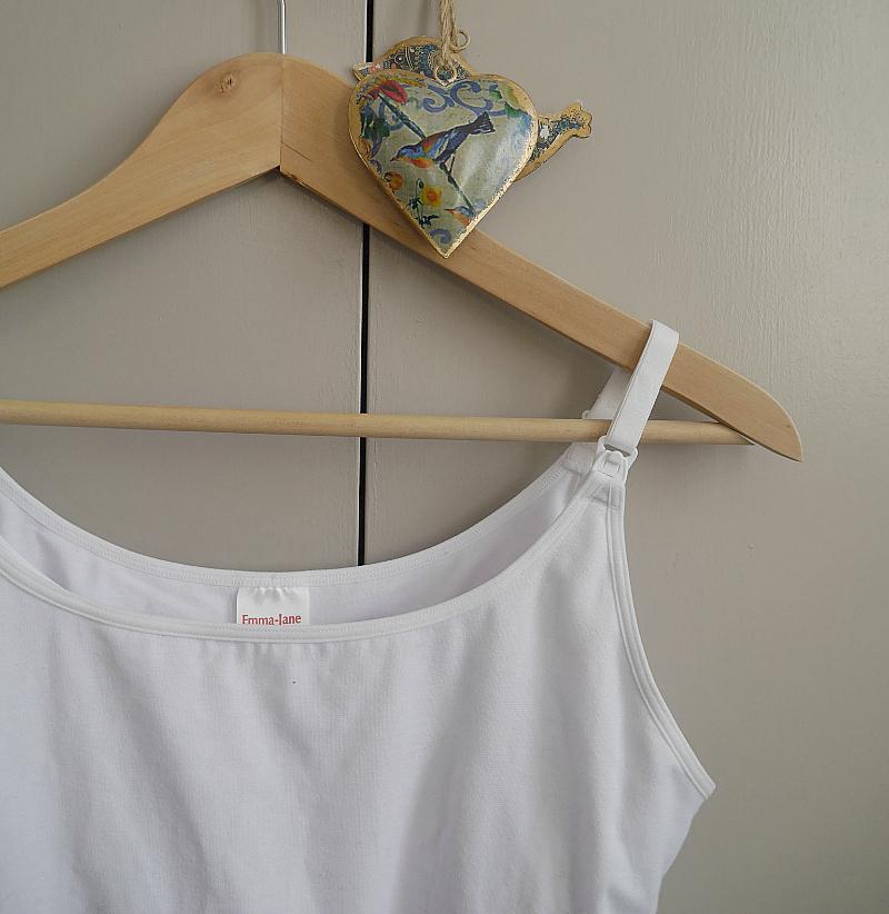 Emma Jane breastfeeding vest top review