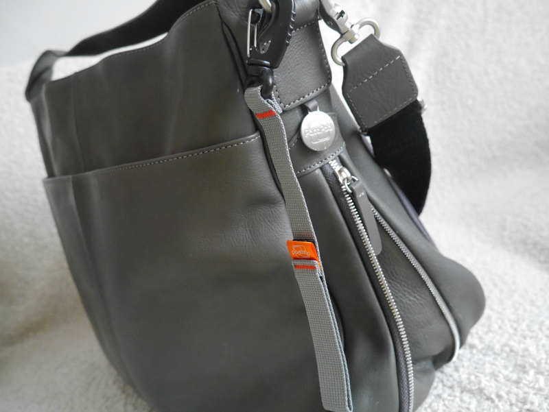 Pacapod Sydney leather change bag