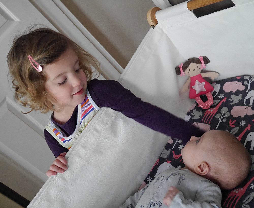 Review of the snuzpod bedside cot